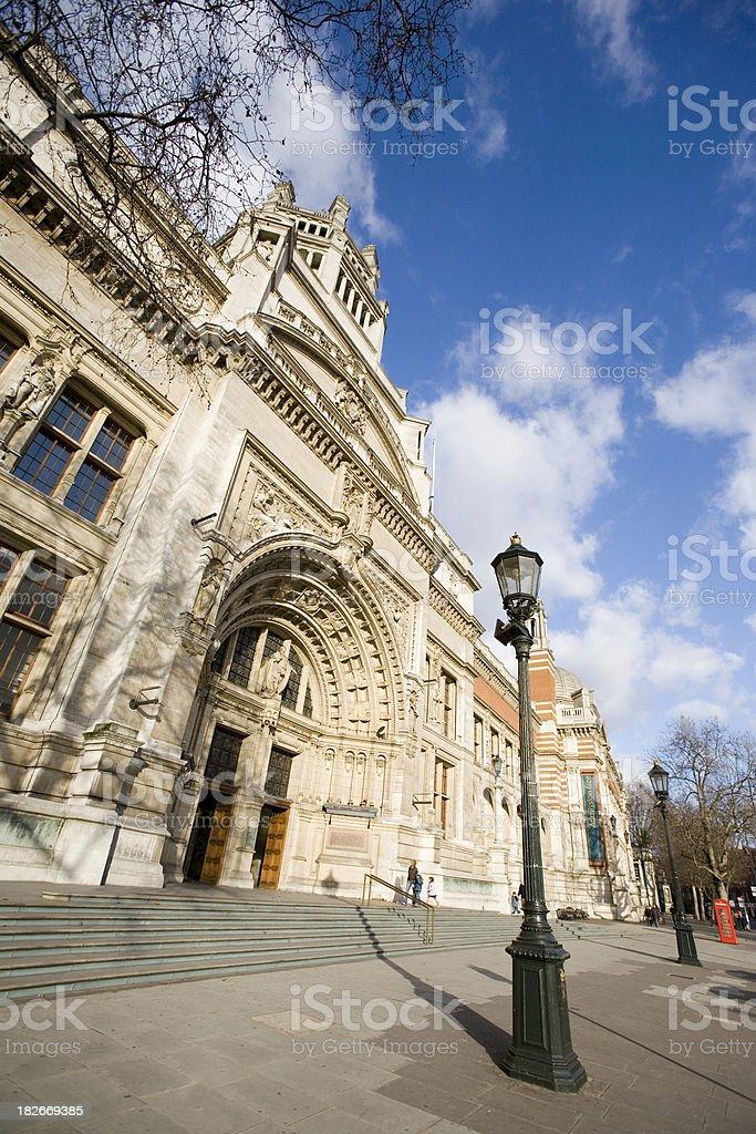 Victoria & Albert Museum, London stock photo