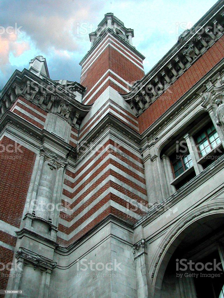Victoria & Albert Museum stock photo