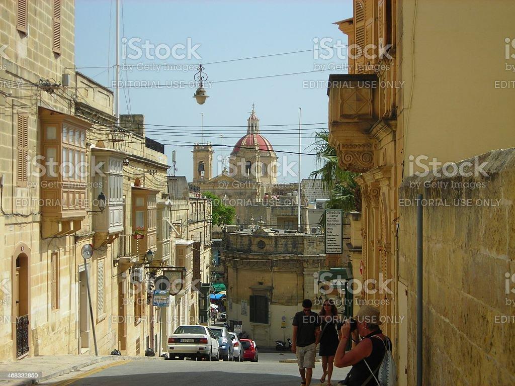 Victoria, also known as Rabat, Gozo stock photo