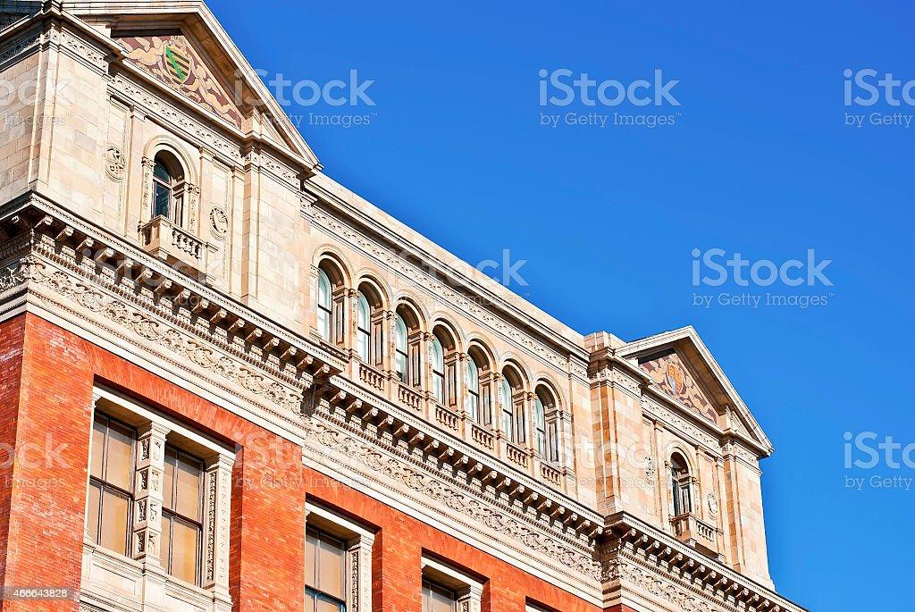 Victoria and Albert Museum, London stock photo
