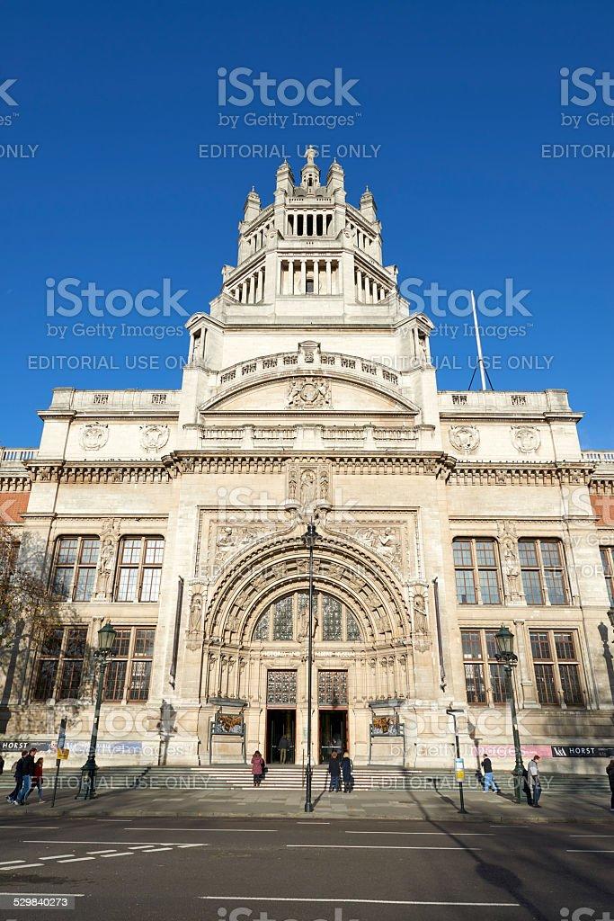 Victoria and Albert Museum stock photo
