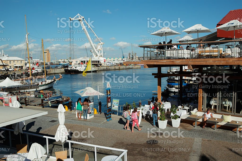 Victoria and Alfred Waterfront - Cape Town stock photo