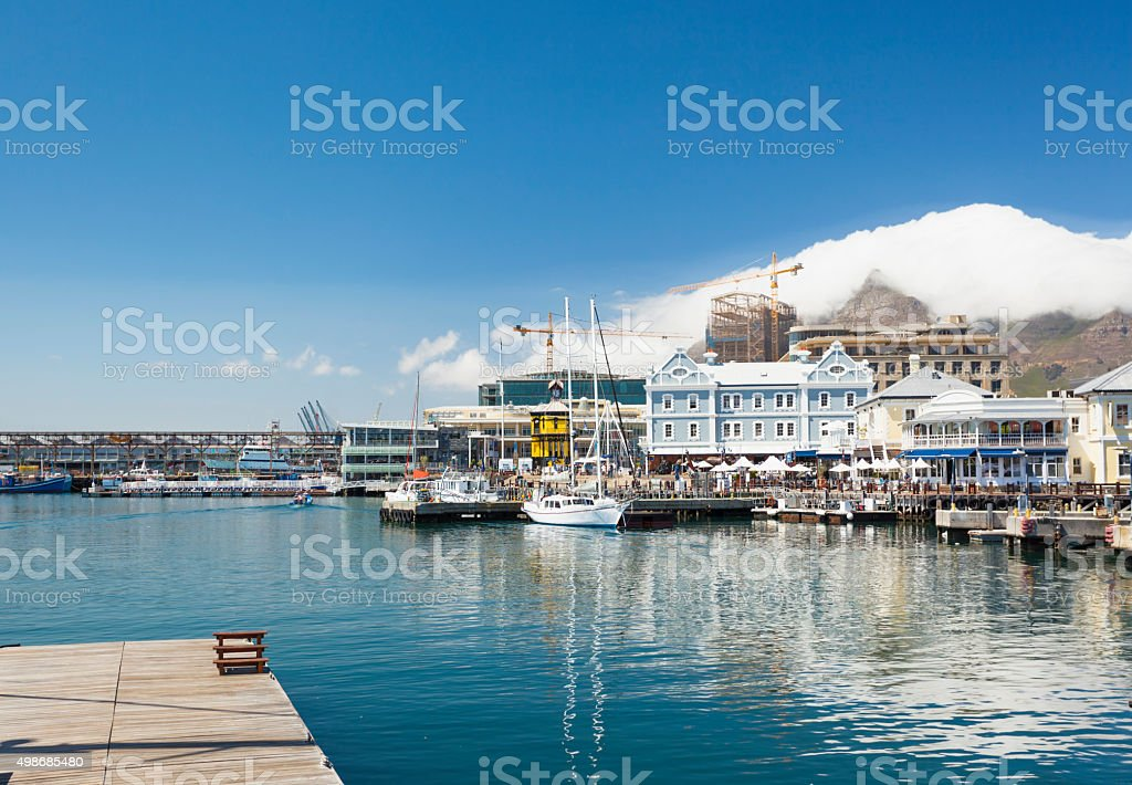 V&A Waterfront, Cape Town, South Africa stock photo