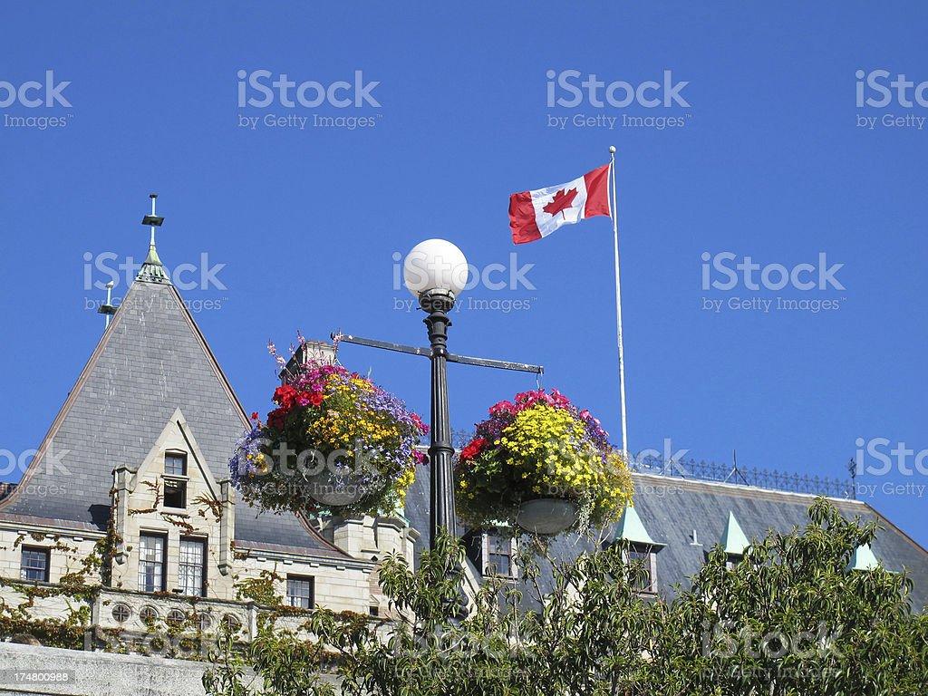 Victoria, B.C. architecture stock photo