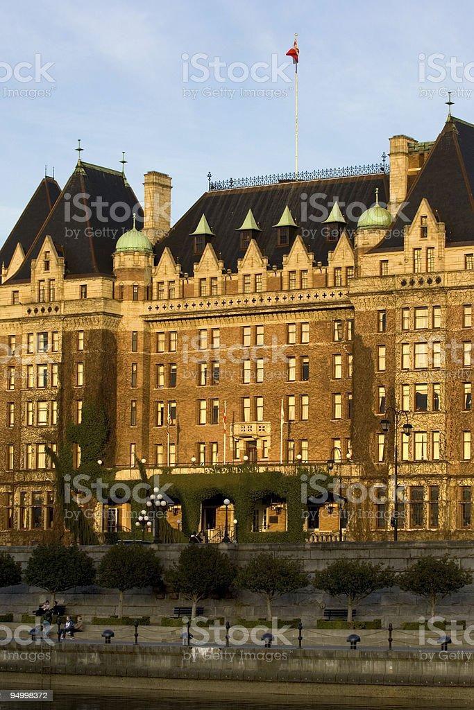 Victoria BC Hotel stock photo