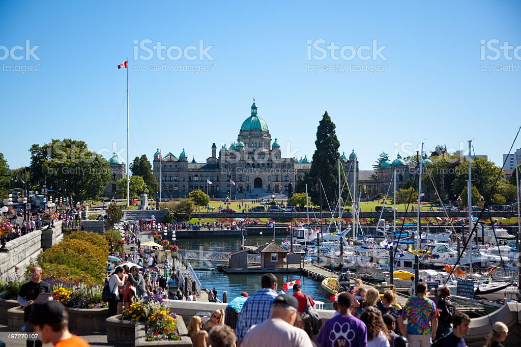 Victoria, British Columbia, Canada stock photo