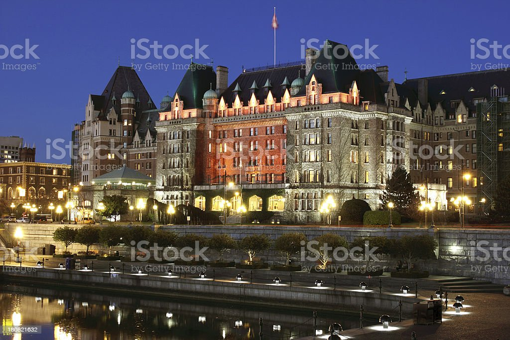Victoria, British Columbia stock photo