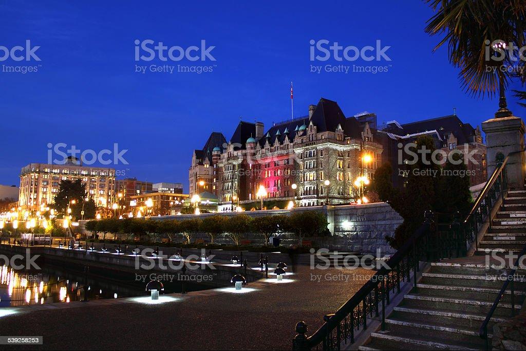 Victoria, British Columbia stock photo