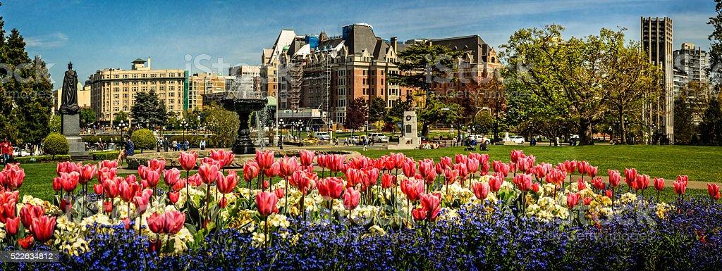 Victoria - Canada, Canada, British Columbia stock photo