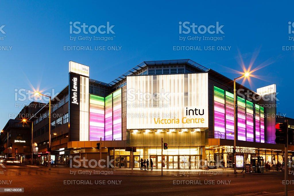 INTU Victoria Centre - shopping centre. Nottingham. stock photo