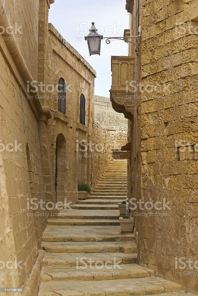 Victoria citadel in Gozo. Malta royalty-free stock photo