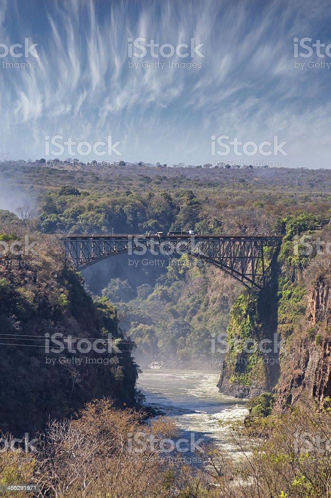 Victoria Falls Bridge royalty-free stock photo
