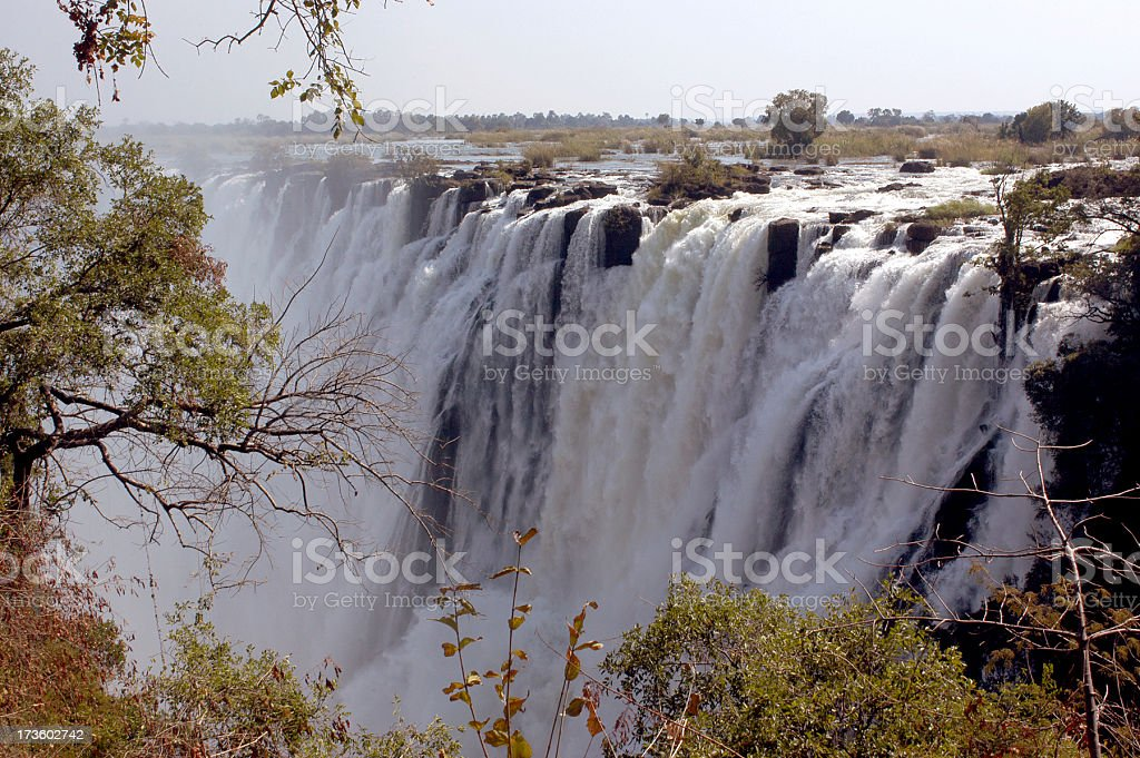 Victoria Falls royalty-free stock photo