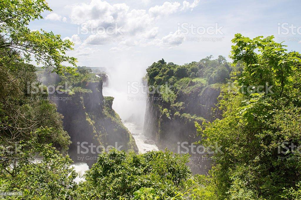 Victoria Falls stock photo