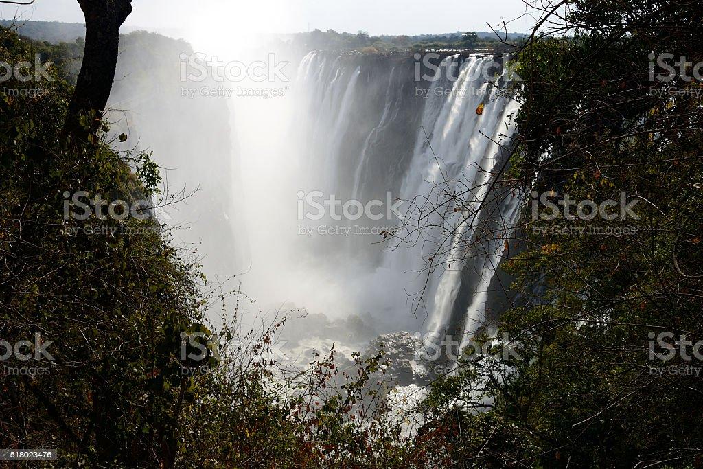 Victoria Falls, Zambia stock photo