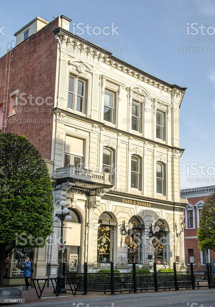 Victoria Government Street Building royalty-free stock photo