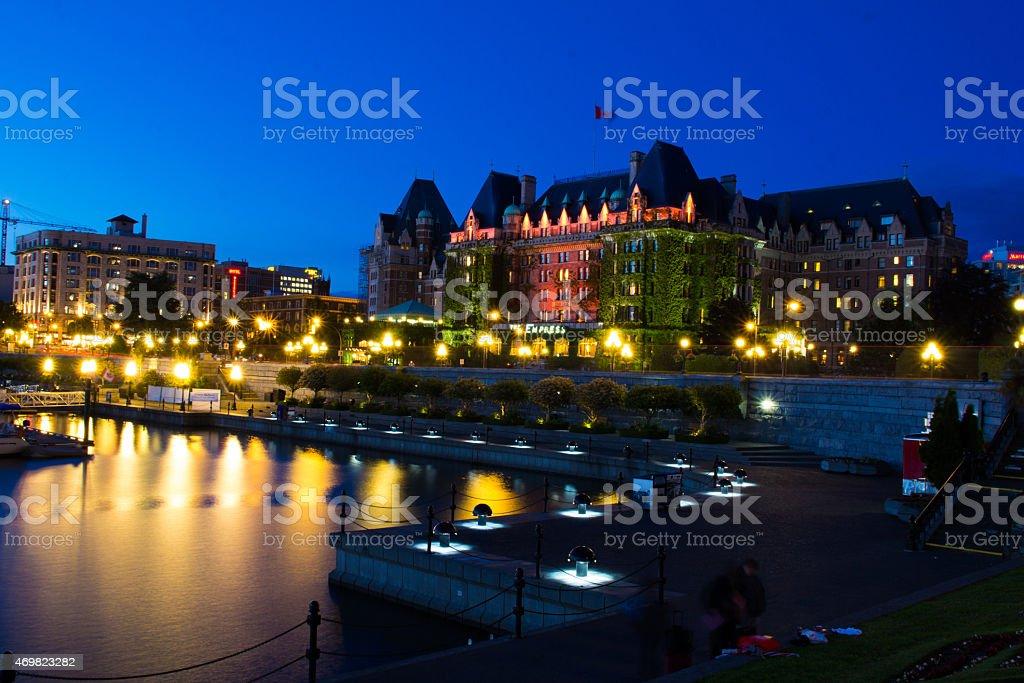 Victoria Harbour stock photo