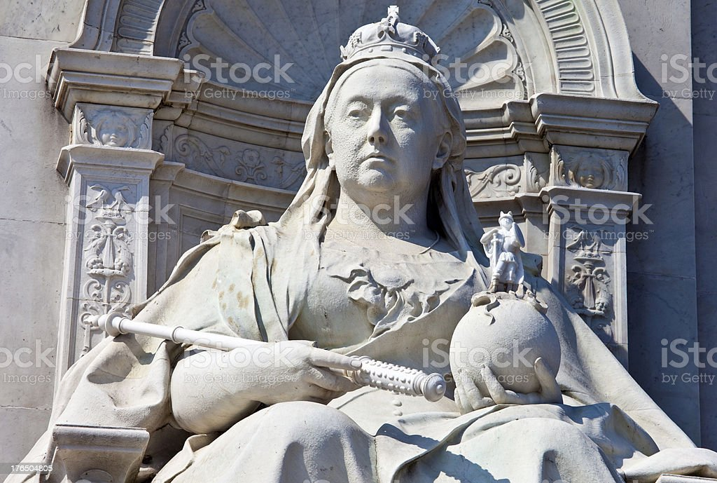 Victoria Memorial in London stock photo