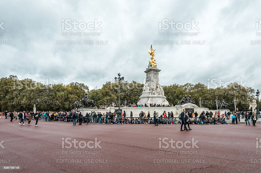 Victoria Memorial is a monument to Queen Victoria stock photo