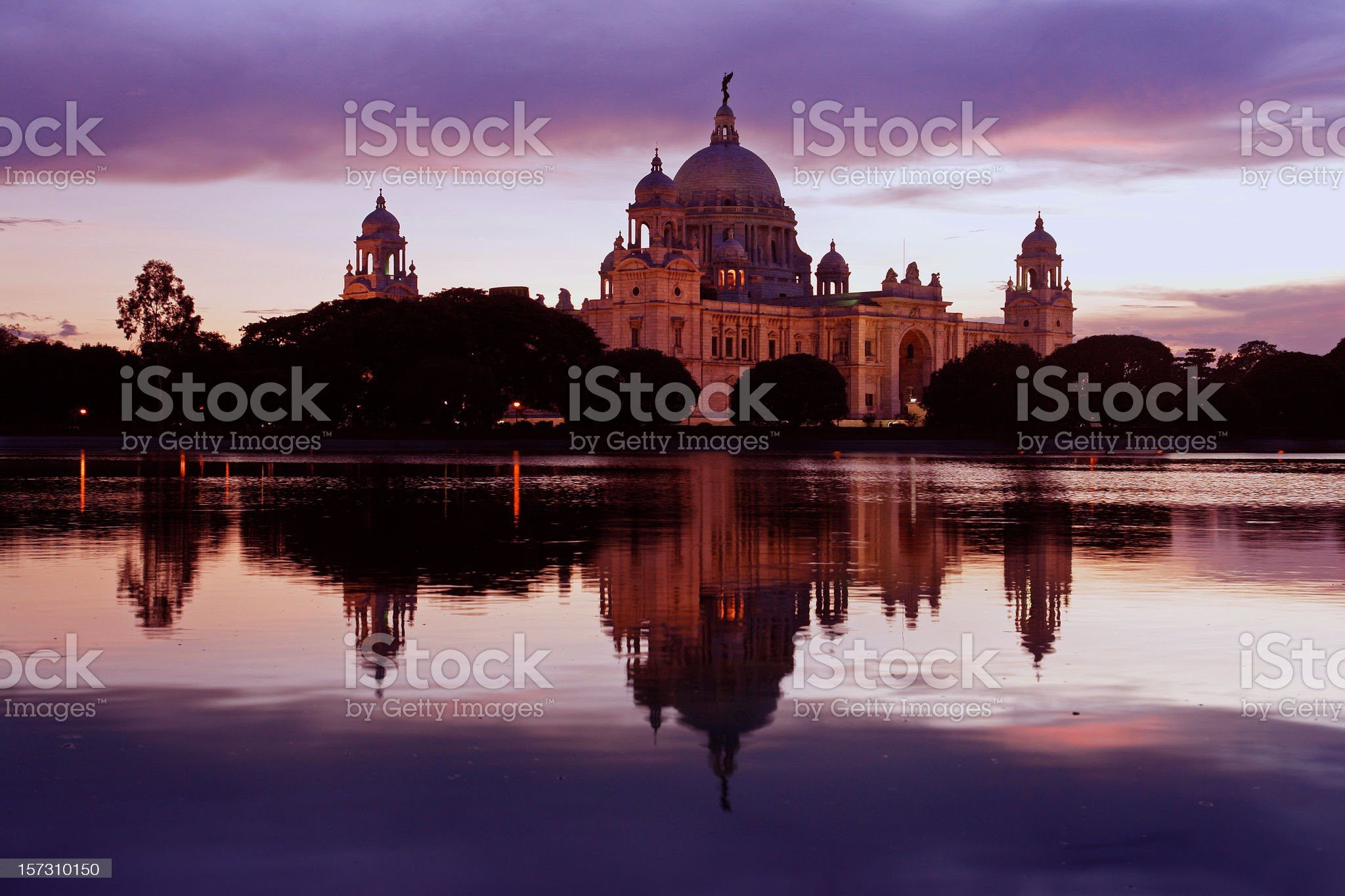 Victoria Memorial, Kolkata royalty-free stock photo