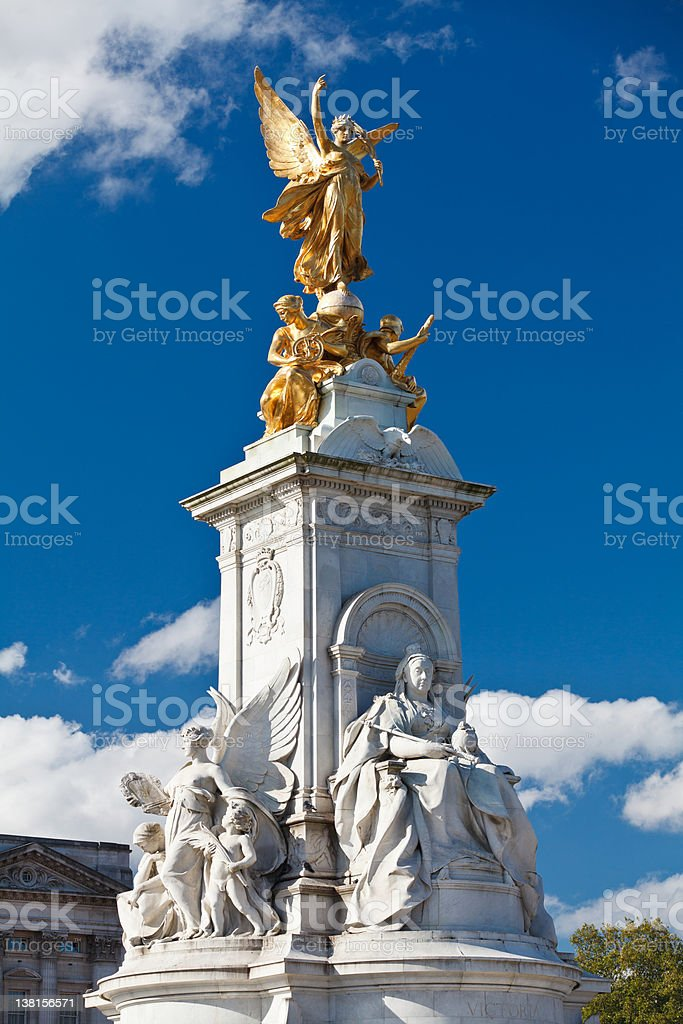 Victoria Memorial royalty-free stock photo