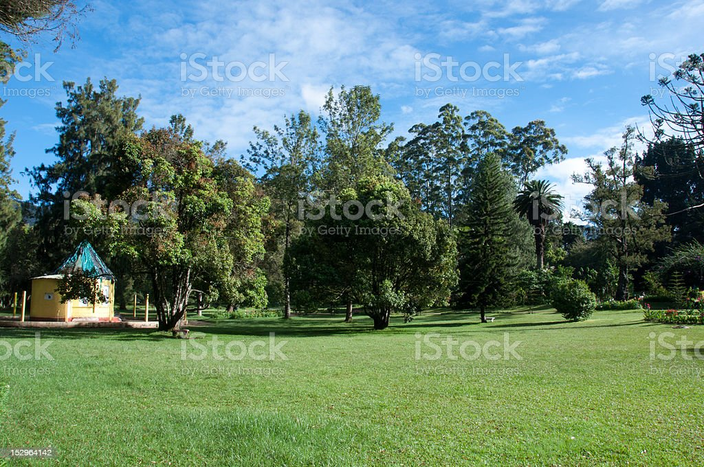 Victoria Park, Nuwara Eliya, Sri Lanka stock photo