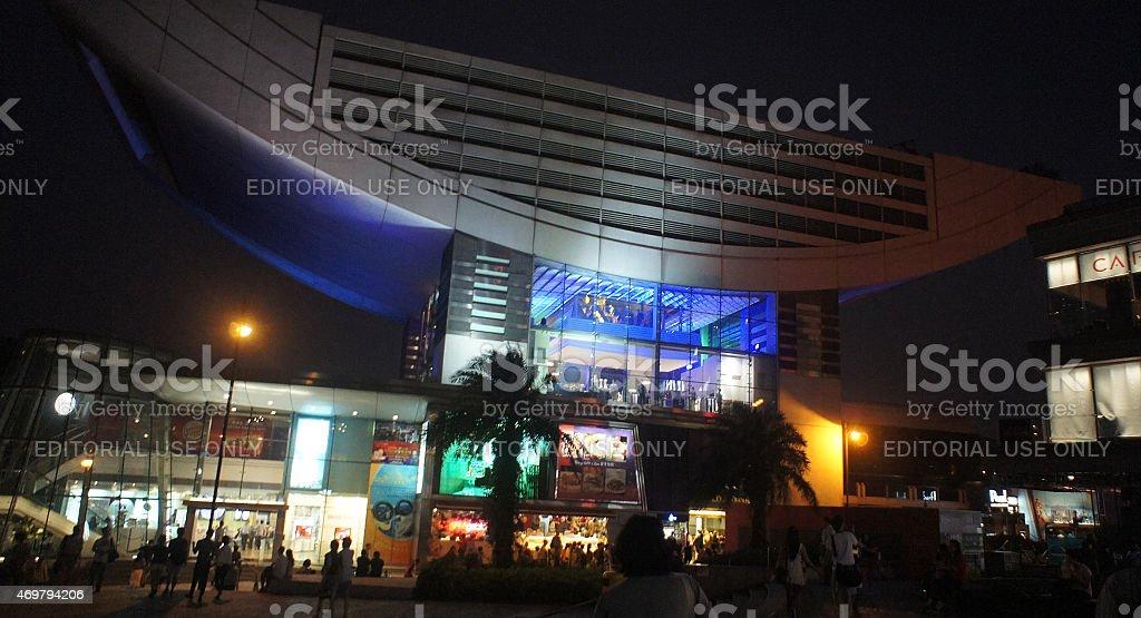 Victoria Peak Shopping stock photo