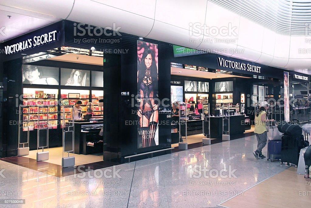 Victoria Secret shop stock photo