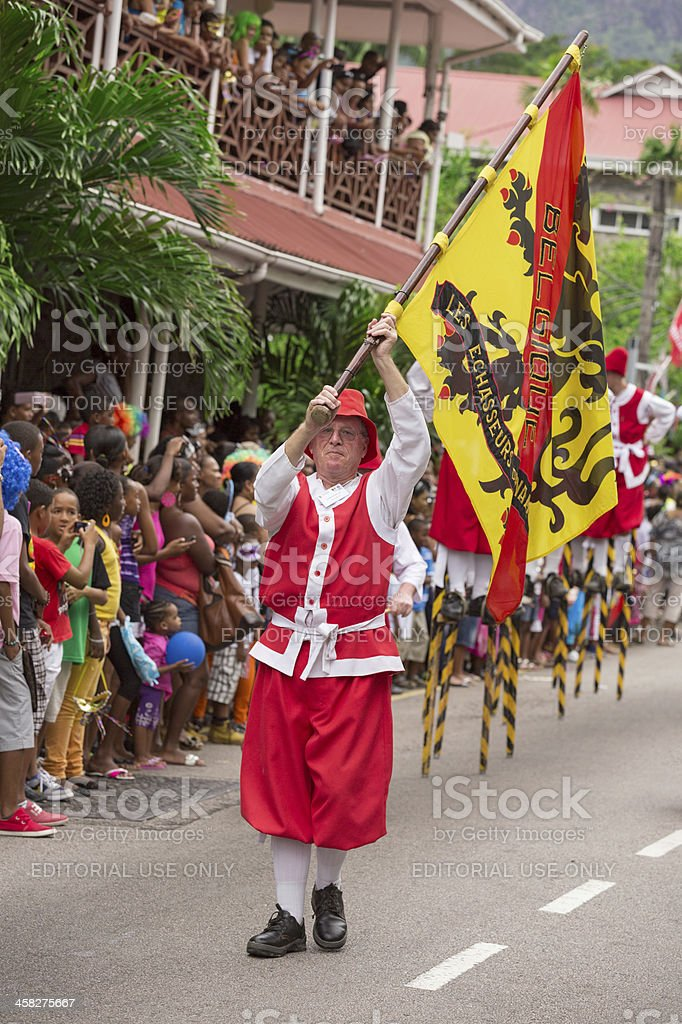 Victoria, Seychelles royalty-free stock photo