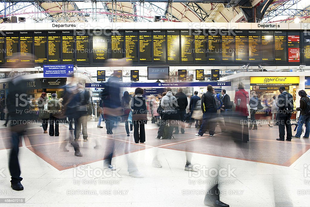 Victoria Station royalty-free stock photo