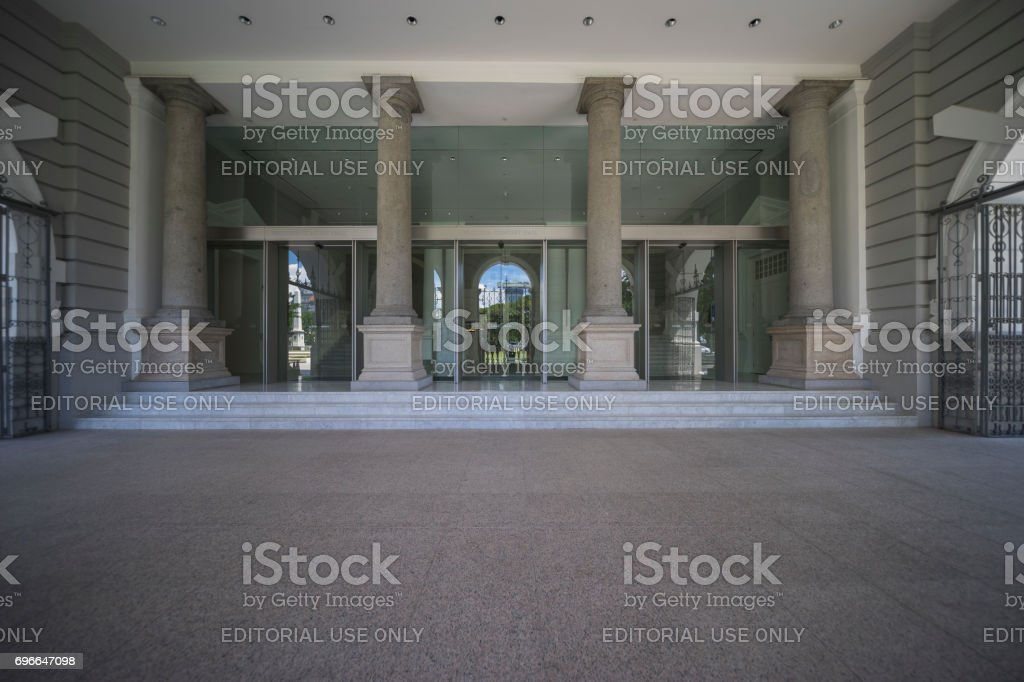 Victoria Theartre and Concert Hall stock photo