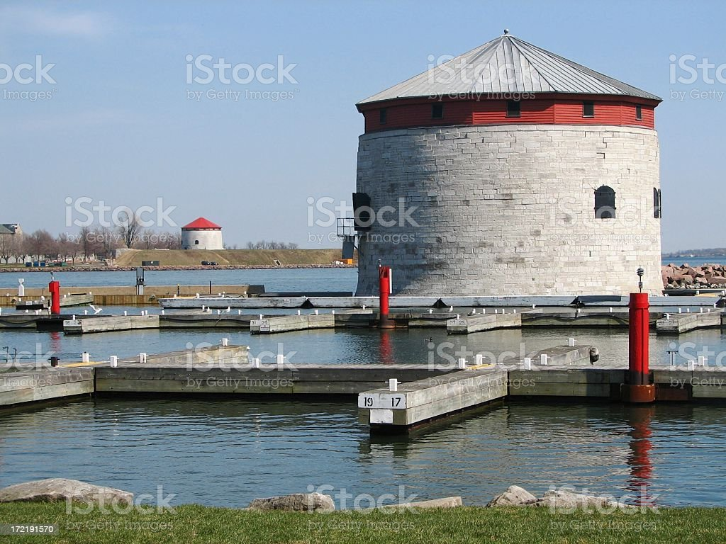 Victoria Tower and Harbour royalty-free stock photo
