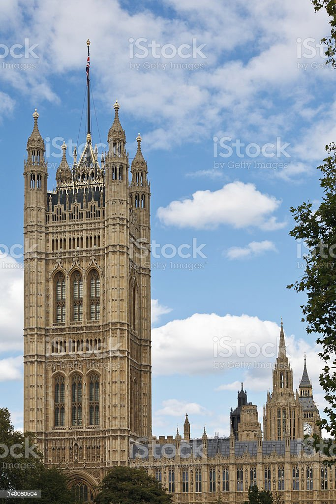 Victoria Tower stock photo