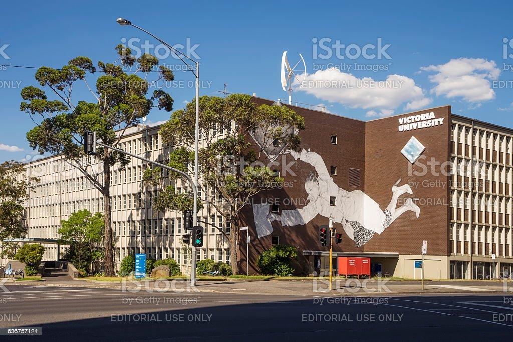 Victoria University, Melbourne stock photo
