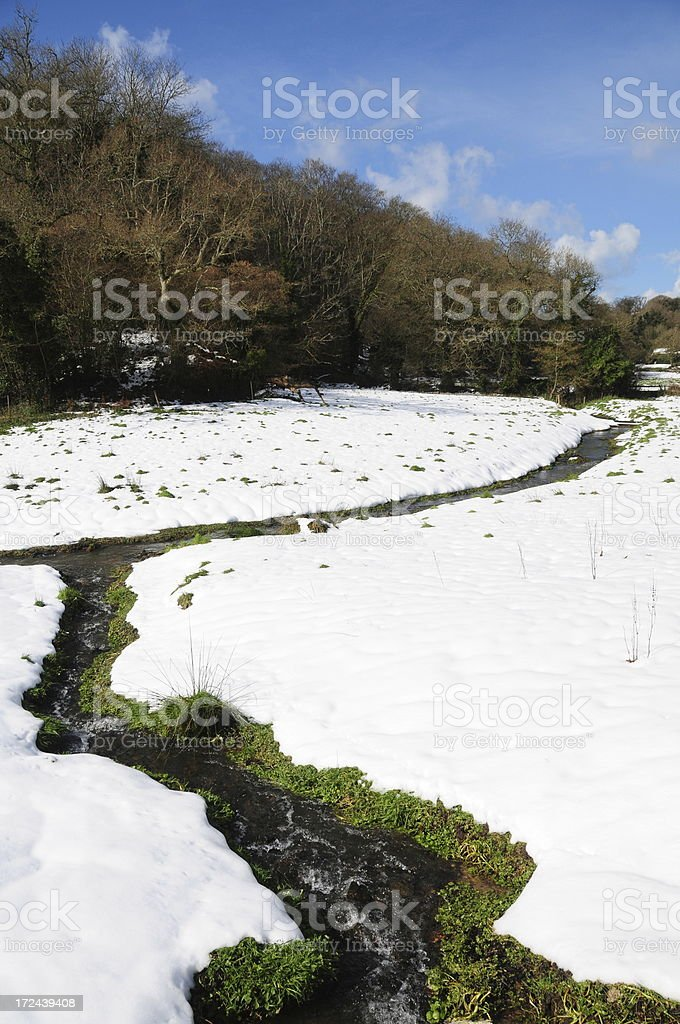 Victoria valley, Jersey royalty-free stock photo