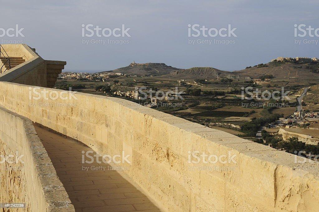 Victoria,Gozo,Maltese Islands. stock photo