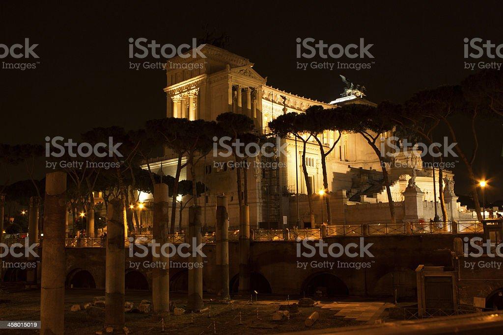 Vittoriano e Fori Romani royalty-free stock photo