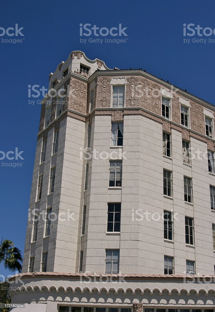 Victorian Apartment Building royalty-free stock photo