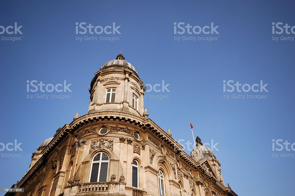 Victorian Architecture in Hull, East Yorkshire royalty-free stock photo