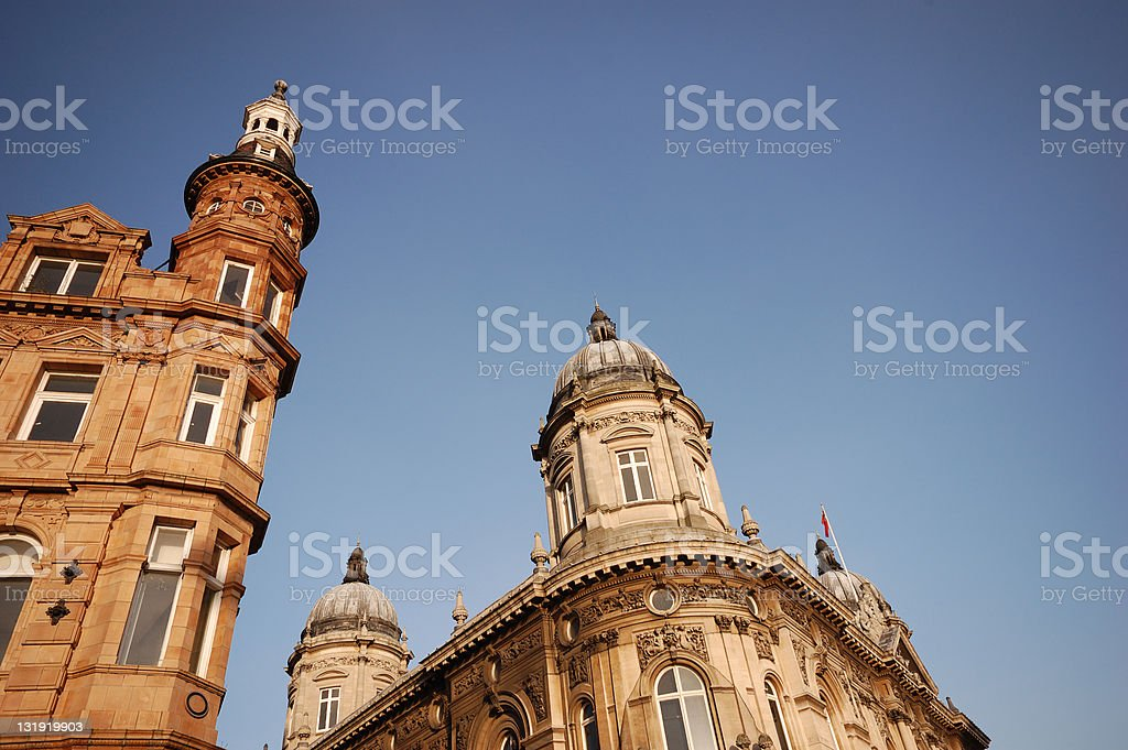 Victorian Architecture in Hull, East Yorkshire stock photo