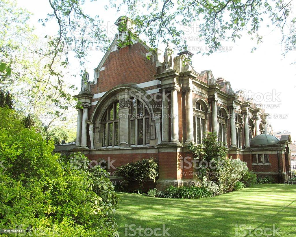 Victorian Architecture stock photo