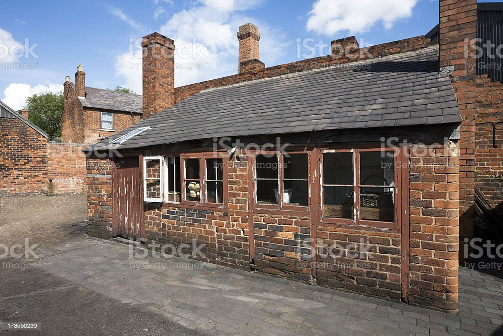 Victorian Bake House and Shop royalty-free stock photo