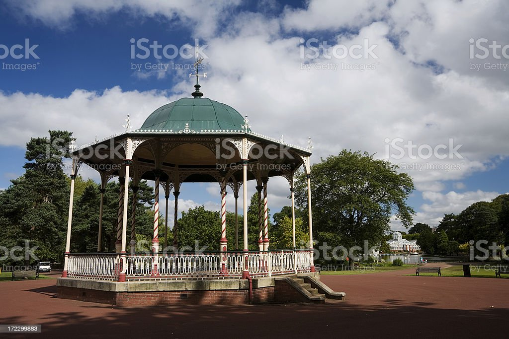 Victorian Bandstand royalty-free stock photo