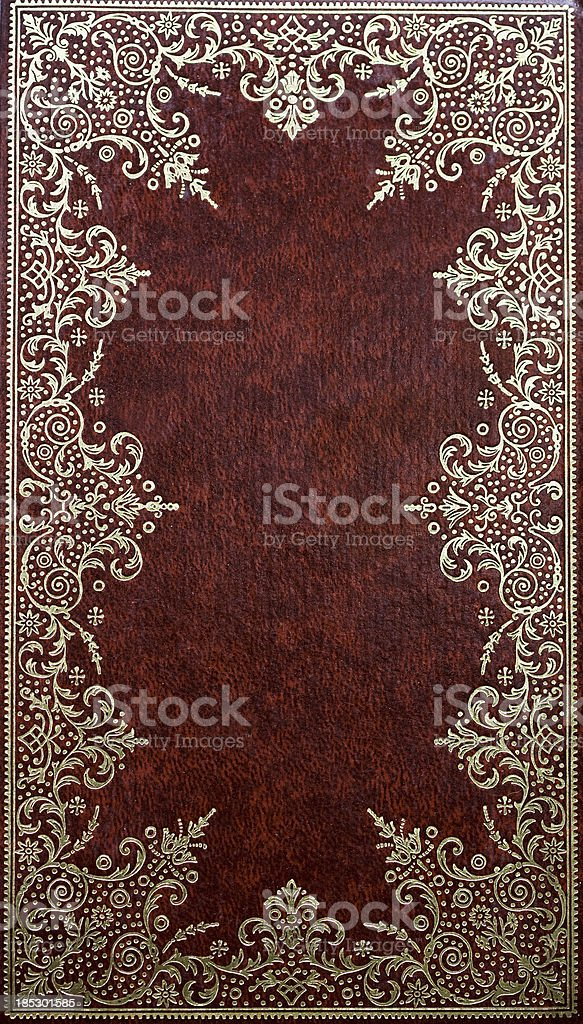 Victorian Book Cover royalty-free stock photo