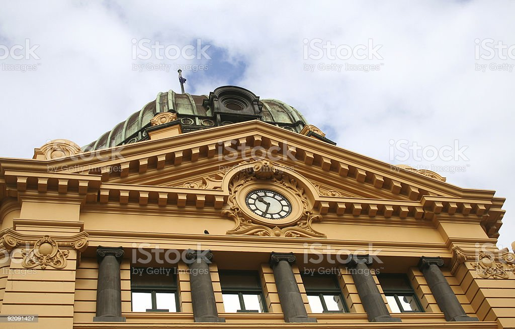 Victorian building stock photo