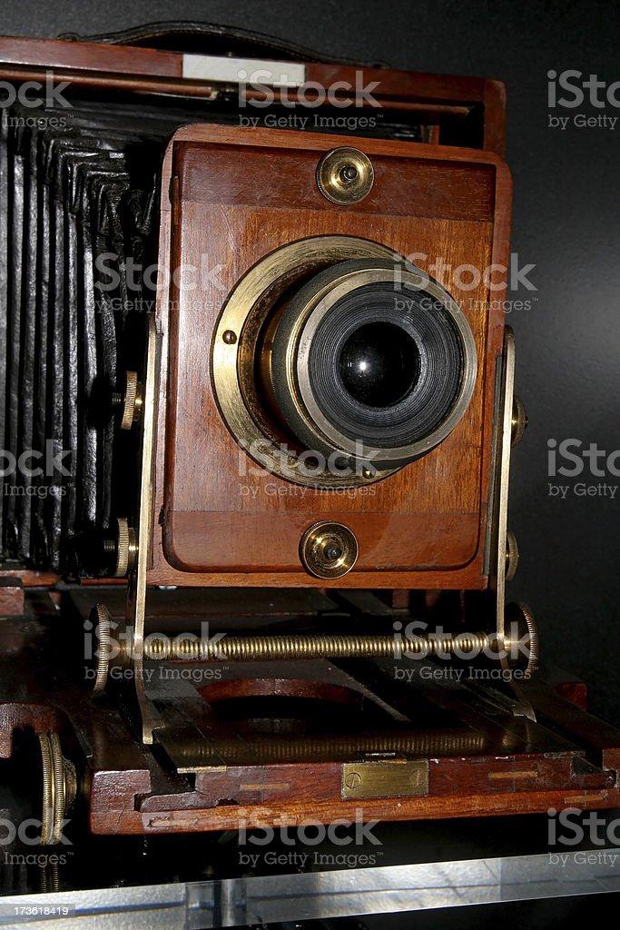 Victorian Camera stock photo
