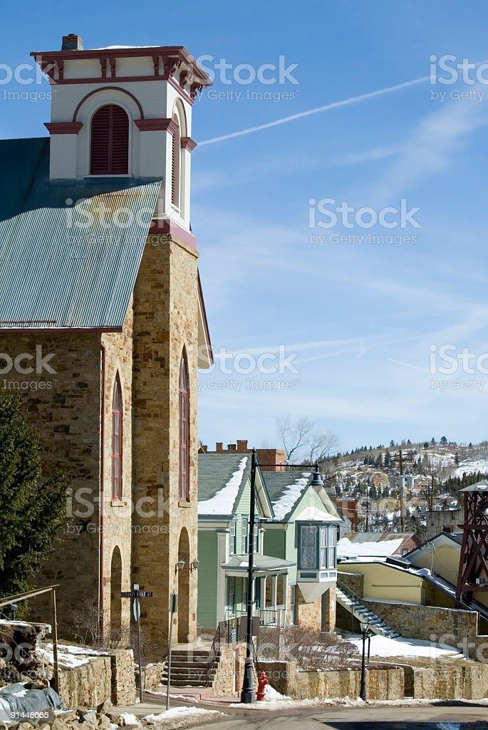 Victorian Church stock photo