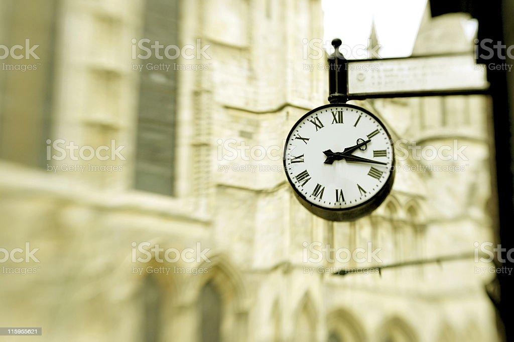 victorian clock stock photo