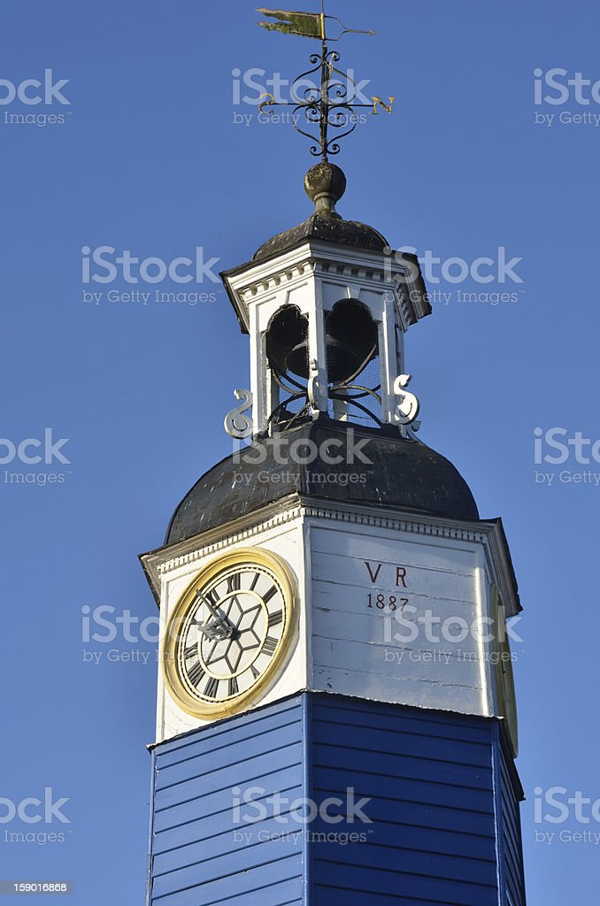 Victorian Clock Tower royalty-free stock photo