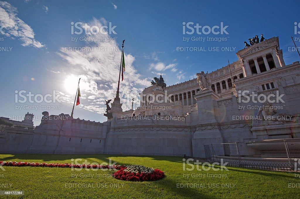 Complesso del Vittoriano - Rome, Italy stock photo
